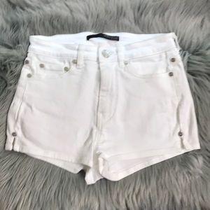 Thomas Wylde all white shorts